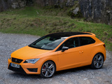 Pictures of Seat Leon SC Cupra UK-spec 2014