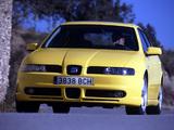 Seat Leon Cupra 2001–05 images