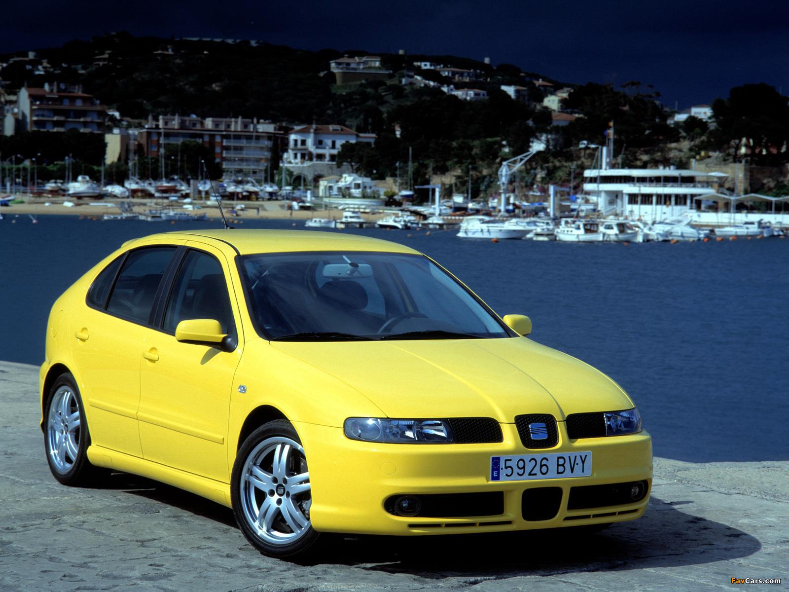 Seat Leon Cupra 2001–05 photos (1600 x 1200)