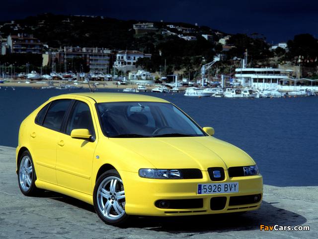 Seat Leon Cupra 2001–05 photos (640 x 480)