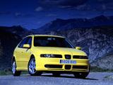 Seat Leon Cupra 2001–05 pictures