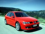 Seat Leon Cupra R 2002–05 images