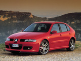 Seat Leon Cupra R 2002–05 photos
