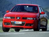 Seat Leon Cupra R 2002–05 pictures