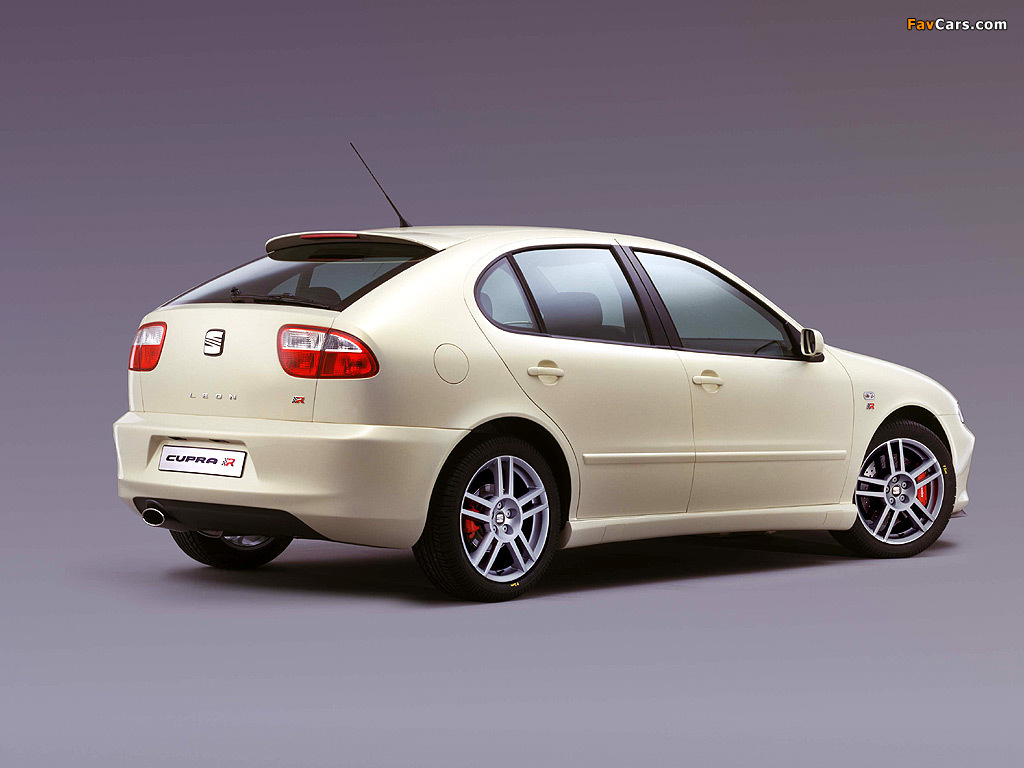 Seat Leon Cupra R 2002–05 wallpapers (1024 x 768)