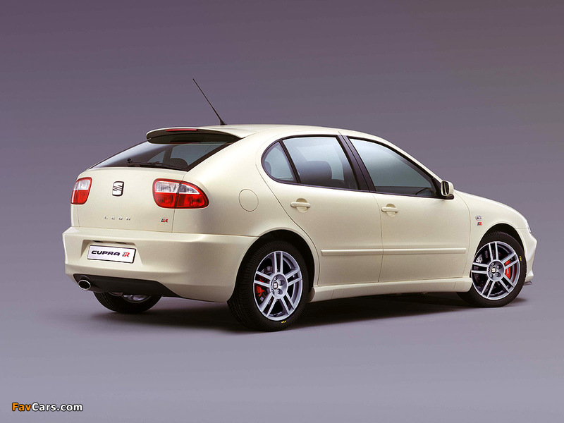 Seat Leon Cupra R 2002–05 wallpapers (800 x 600)