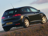 Seat Leon UK-spec 2005–09 photos