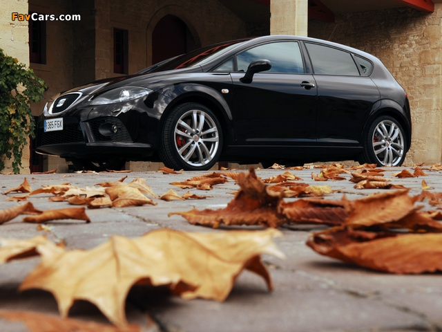 Seat Leon Cupra 2007–09 photos (640 x 480)