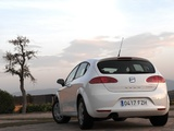Seat Leon Ecomotive 2008–09 wallpapers