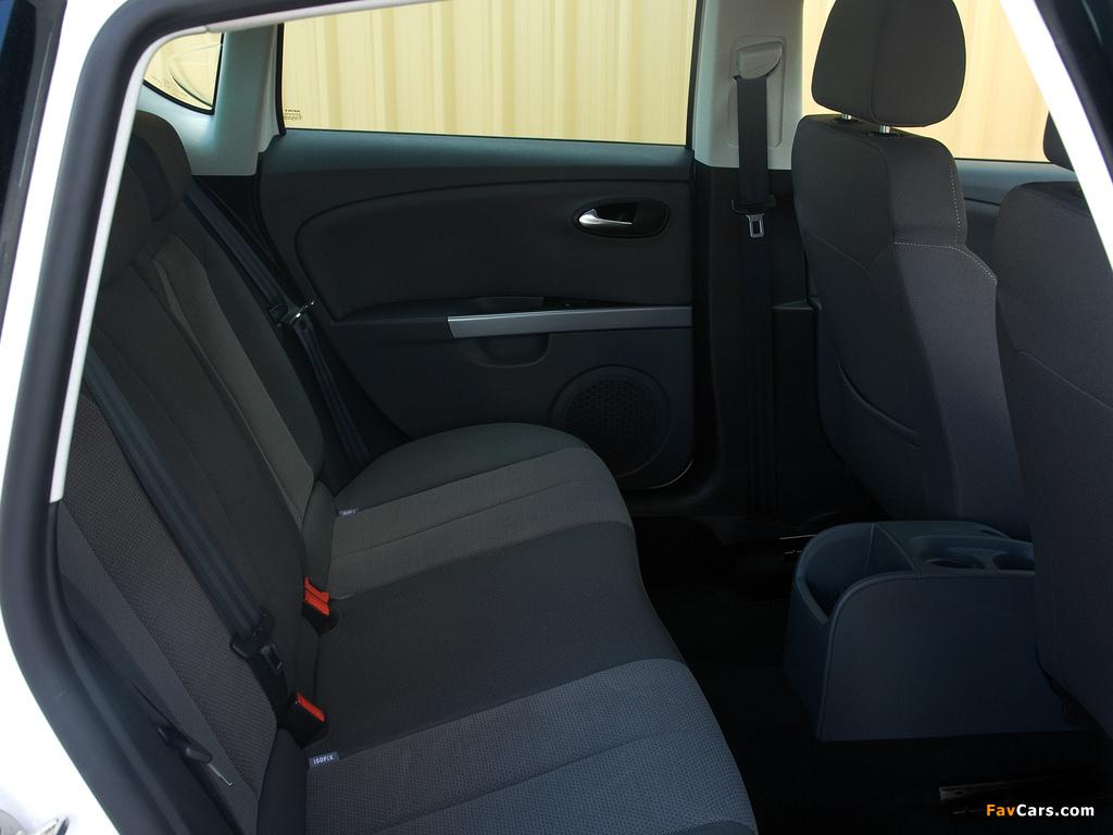 Seat Leon Ecomotive UK-spec 2009–12 images (1024 x 768)