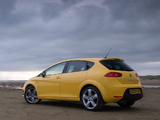 Seat Leon FR UK-spec 2009–12 images