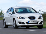 Seat Leon Ecomotive UK-spec 2009–12 photos