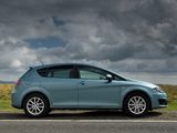 Seat Leon UK-spec 2009–12 photos