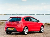 Seat Leon FR UK-spec 2009–12 photos