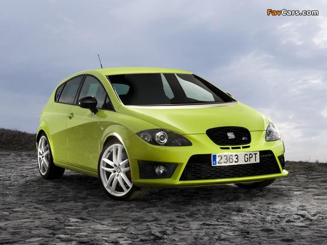 Seat Leon Cupra R 2009–12 pictures (640 x 480)