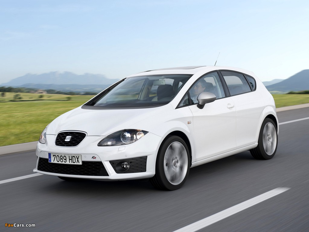 Seat Leon FR 2009–12 pictures (1024 x 768)