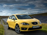 Seat Leon FR UK-spec 2009–12 pictures