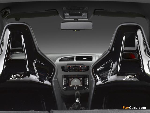 Seat Leon Cupra R UK-spec 2009–12 wallpapers (640 x 480)