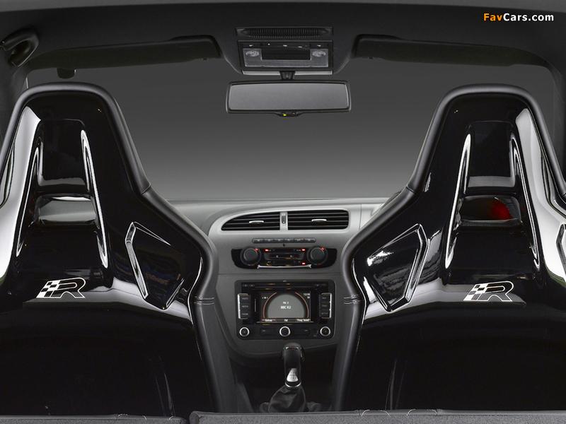 Seat Leon Cupra R UK-spec 2009–12 wallpapers (800 x 600)