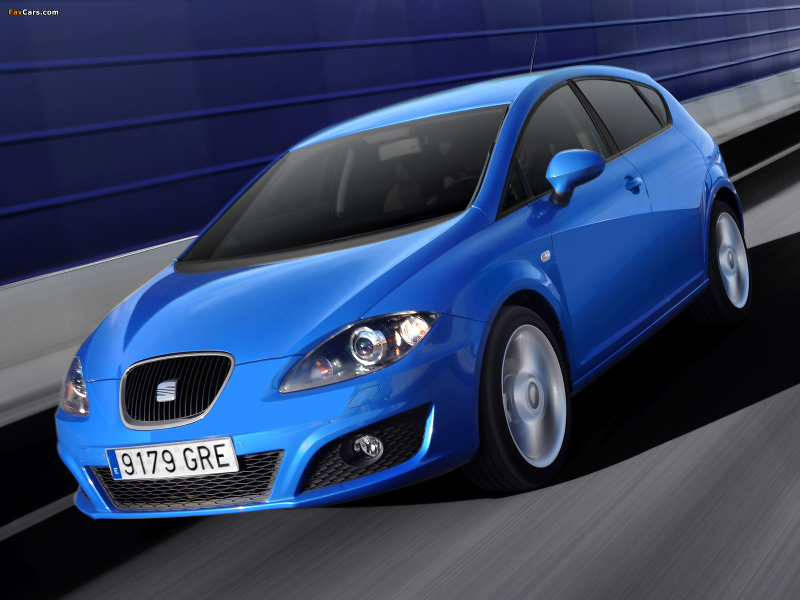 Seat Leon 2009–12 wallpapers (1600 x 1200)