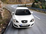 Seat Leon Ecomotive 2009–12 wallpapers