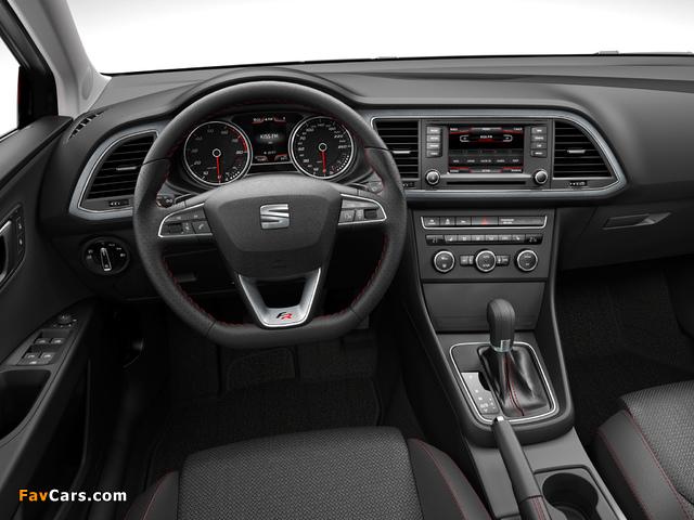 Seat Leon FR 2012 images (640 x 480)