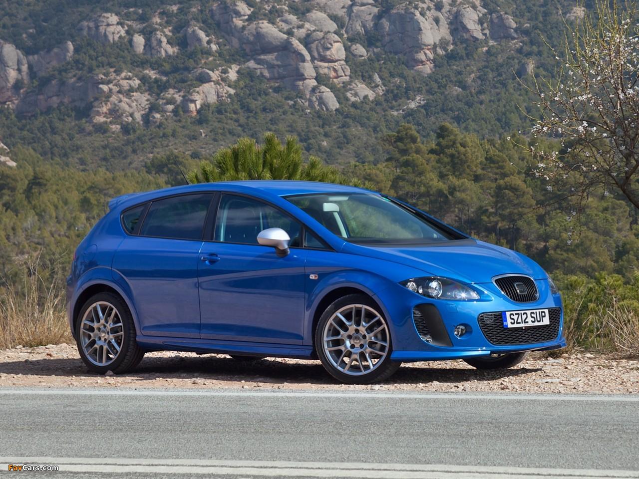 Seat Leon FR Supercopa UK-spec 2012 wallpapers (1280 x 960)