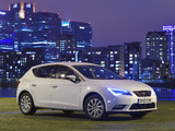 Seat Leon UK-spec 2013 images