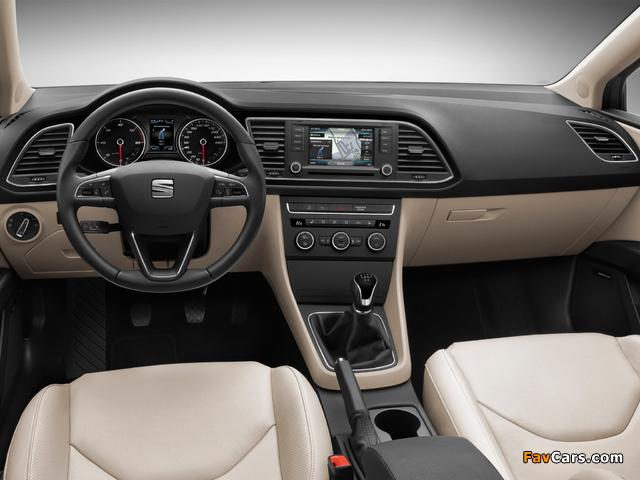 Seat Leon ST 2013 images (640 x 480)