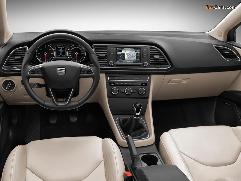 Seat Leon ST 2013 images (800 x 600)