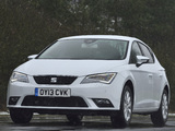 Seat Leon UK-spec 2013 photos
