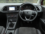 Seat Leon FR UK-spec 2013 photos