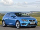 Seat Leon SC FR UK-spec 2013 pictures