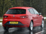 Seat Leon FR UK-spec 2013 pictures