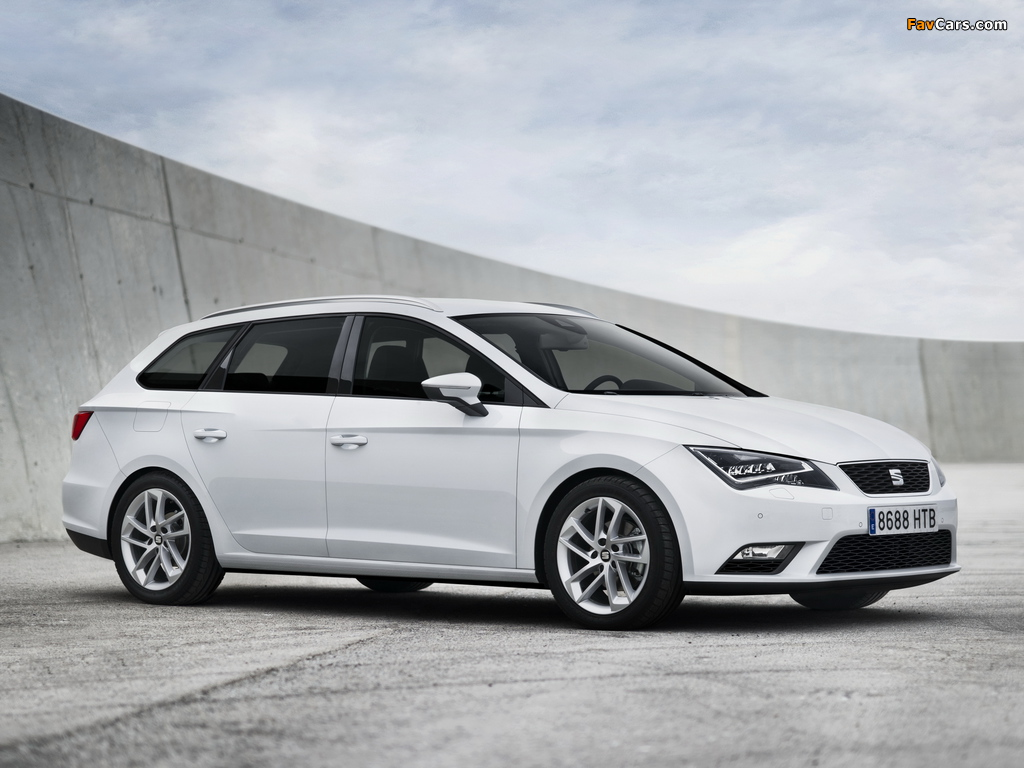 Seat Leon ST 2013 pictures (1024 x 768)