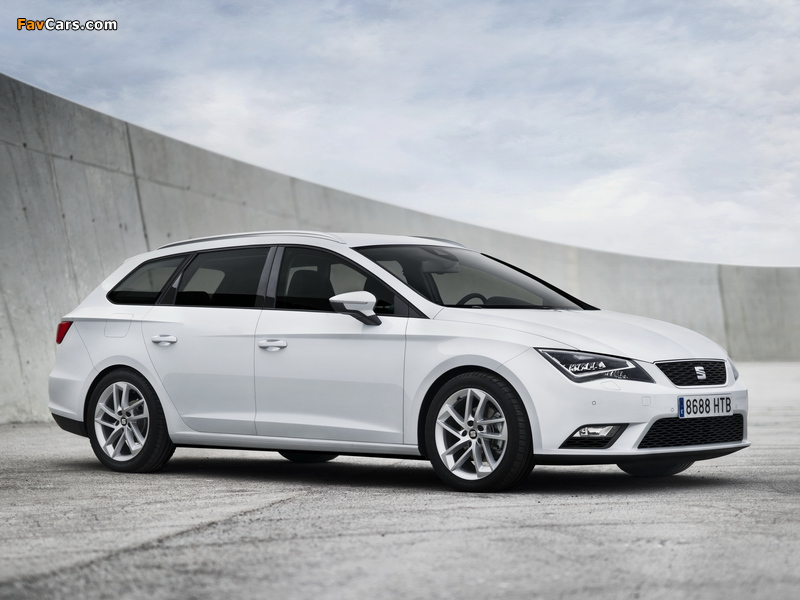 Seat Leon ST 2013 pictures (800 x 600)