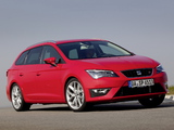 Seat Leon ST FR 2013 pictures