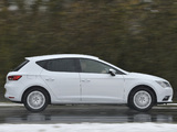 Seat Leon UK-spec 2013 pictures