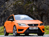 Seat Leon SC Cupra UK-spec 2014 images