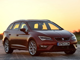 Seat Leon ST FR UK-spec 2014 photos