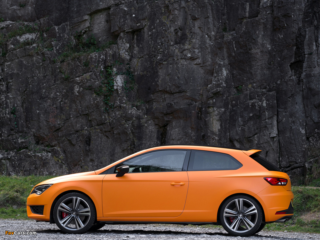 Seat Leon SC Cupra UK-spec 2014 pictures (1024 x 768)