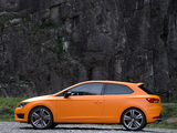 Seat Leon SC Cupra UK-spec 2014 pictures