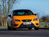 Seat Leon SC Cupra UK-spec 2014 wallpapers