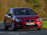 Seat Leon ST FR UK-spec 2014 wallpapers