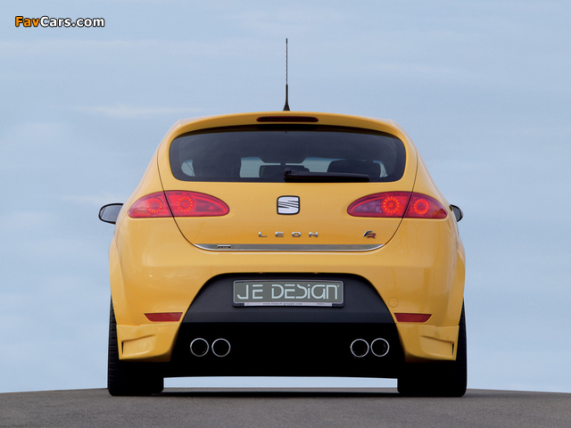 Je Design Seat Leon FR 2007–09 wallpapers (640 x 480)