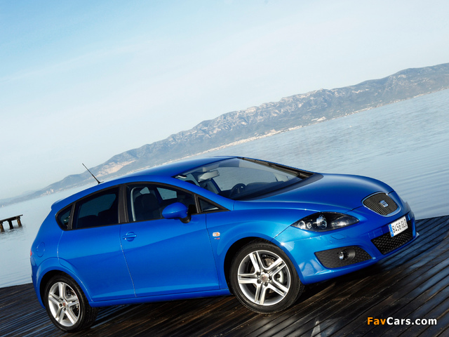Seat Leon 2009–12 wallpapers (640 x 480)