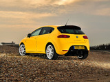 Seat Leon Cupra R UK-spec 2009–12 wallpapers