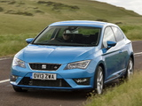 Seat Leon SC FR UK-spec 2013 wallpapers