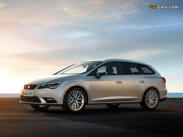 Seat Leon ST 2013 wallpapers (640 x 480)