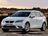 Seat Leon ST UK-spec 2014 wallpapers